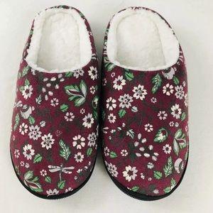 NWT Vera Bradley Cozy Printed Slippers